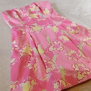 Lilly Pulitzer Blossom Hotty Pink Straples…